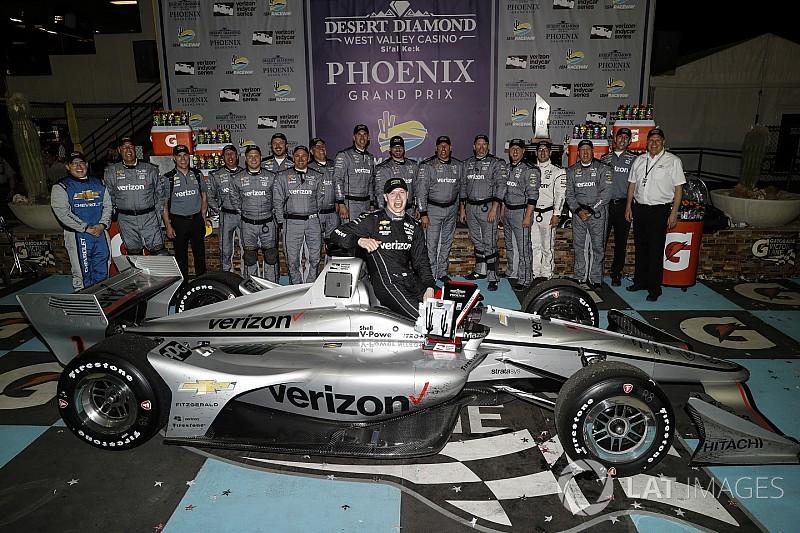 IndyCar: Newgarden kalahkan Wickens-Rossi di Phoenix
