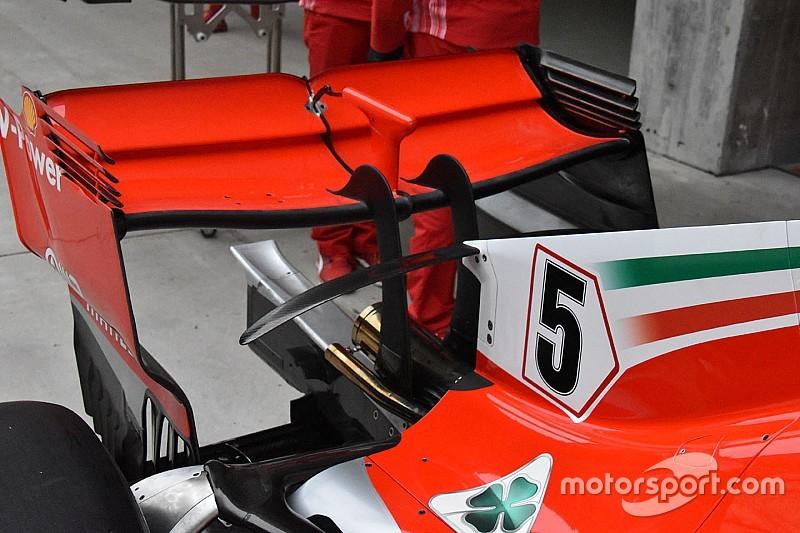 Ferrari y Mercedes se enfrentarán en Bakú con nuevos alerones traseros