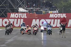 MotoGP Важливі новини Відео: Маркес на старті намагається завести байк
