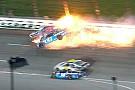 NASCAR Cup У пострадавшего в аварии гонщика NASCAR обнаружили перелом позвонка