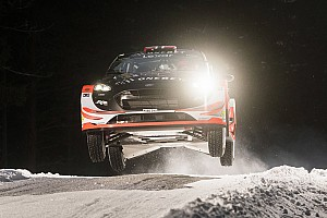 WRC Dagverslag Ostberg bovenaan na shakedown Rally van Zweden