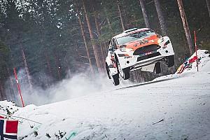 WRC 速報ニュース 【WRC】ラリースウェーデン参戦の勝田と新井、無事完走を果たす
