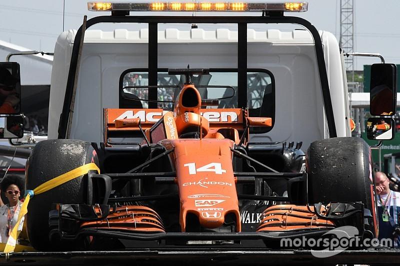 Déception, frustration, tristesse: McLaren peine à