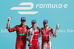 Formula E Reporte de la carrera Rosenqvist le arrebata la victoria a Di Grassi en Berlín
