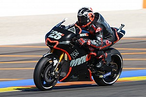 MotoGP Testing report Vinales fastest again as Valencia testing concludes