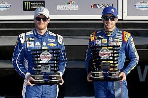NASCAR Cup Qualifying report Chase Elliott edges Dale Jr. for Daytona 500 pole