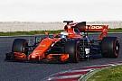 Formel 1 F1-Test Barcelona: McLaren mit technischen Problemen