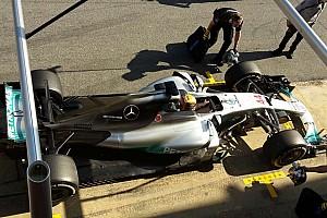 Formula 1 Analysis Mercedes seeks cooling through shark fin chimney