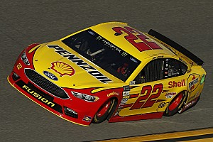NASCAR Cup Practice report Logano and Ford top Daytona 500 qualifying practice