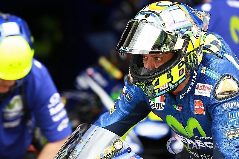 """Rossi: """"Moeilijke"""" uitgangspositie door bandenprobleem"""