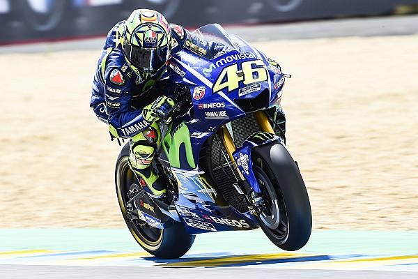 MotoGP Valentino Rossi: Sturz in letzter Runde nicht der eigentliche Fehler