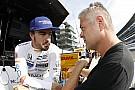 Alonso admite: tratar con vientos a 220 mph en Indy es complicado