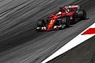 Vettel ve complicada la lucha con Mercedes en Austria