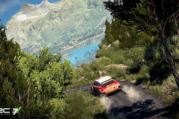 Sim racing Artículo especial 'WRC7', contravolanteando durante más de 15 minutos