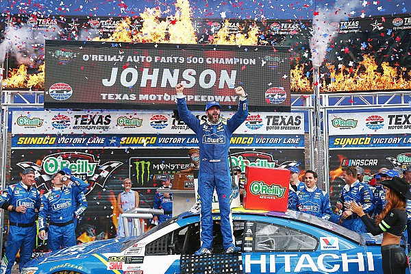 NASCAR: 7. Texas-Sieg für Jimmie Johnson