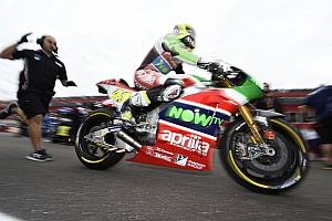 MotoGP Interview Un programme de développement renforcé pour Aprilia