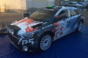 CIR Ultime notizie Paddon promuove la i20 R5 per Sanremo: