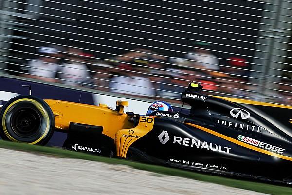 Formule 1 Palmer weet dat Hülkenberg geacht wordt hem 'weg te blazen'