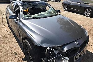 OTOMOBİL Son dakika Infiniti sürücüsü makas atmaya çalışırken az kalsın başkasını öldürüyordu