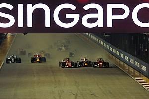 Formule 1 Actualités Aucune sanction après l'accrochage du départ à Singapour