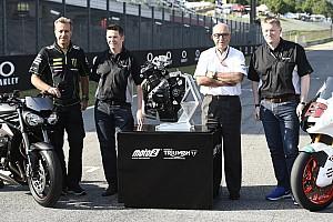 Moto2 Noticias de última hora Oficializado el acuerdo de tres años para que Triumph motorice las Moto2 a partir de 2019