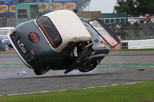 Gallery: Former AC/DC singer Brian Johnson crashes a classic car