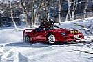 Автомобілі Відео: Дріфт на Ferrari F40 по снігу