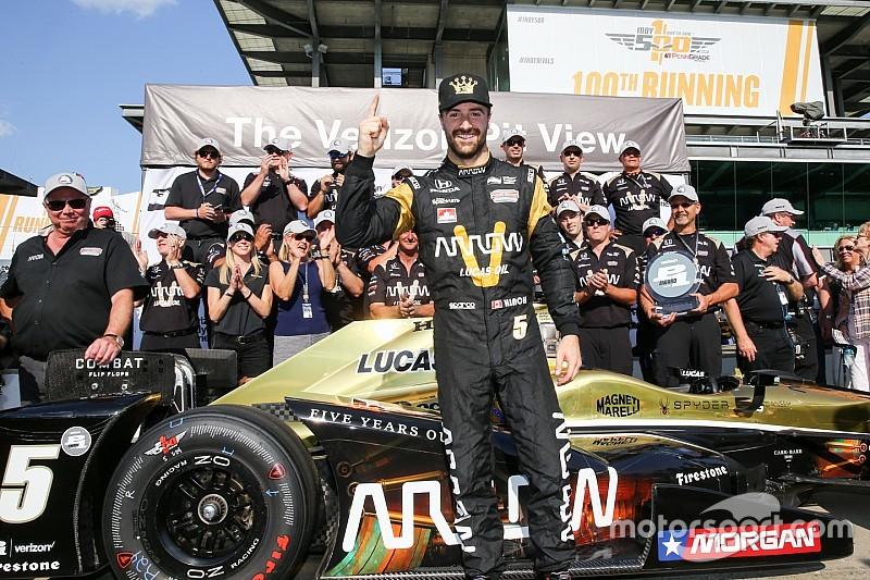 Хінчкліфф виграв кваліфікацію сотої гонки Indy 500