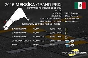 Formula 1 Ön Bakış Meksika GP'si saat kaçta, hangi kanalda?