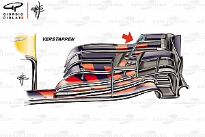What was behind Red Bull's split wing approach