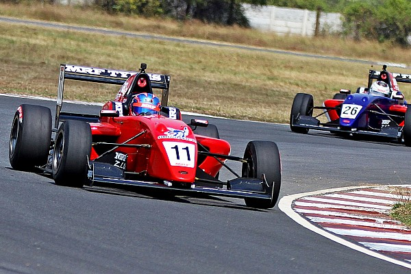 Indian Open Wheel Race report Chennai MRF: Champion Drugovich eases to Race 3 win