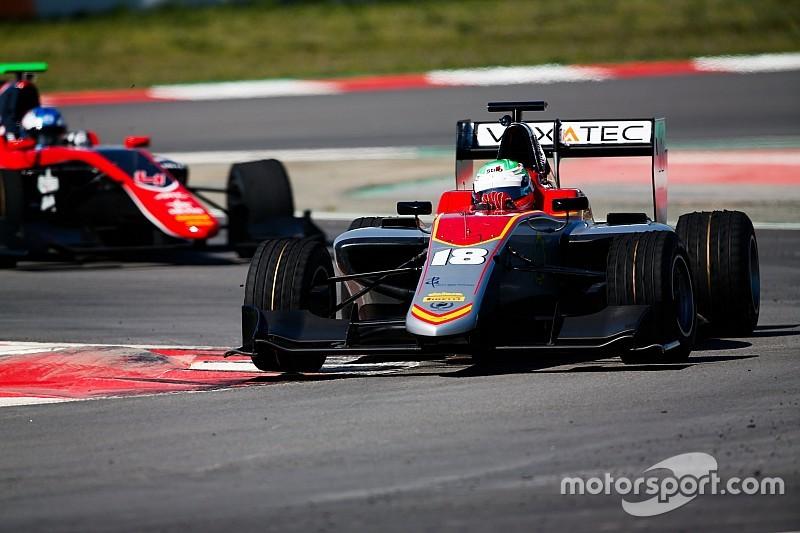 Barcelona GP3 testi: Pulcini lider