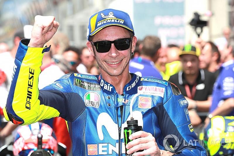 """Apesar de pódio, Rossi é pessimista: """"a pista nos ajudou"""""""