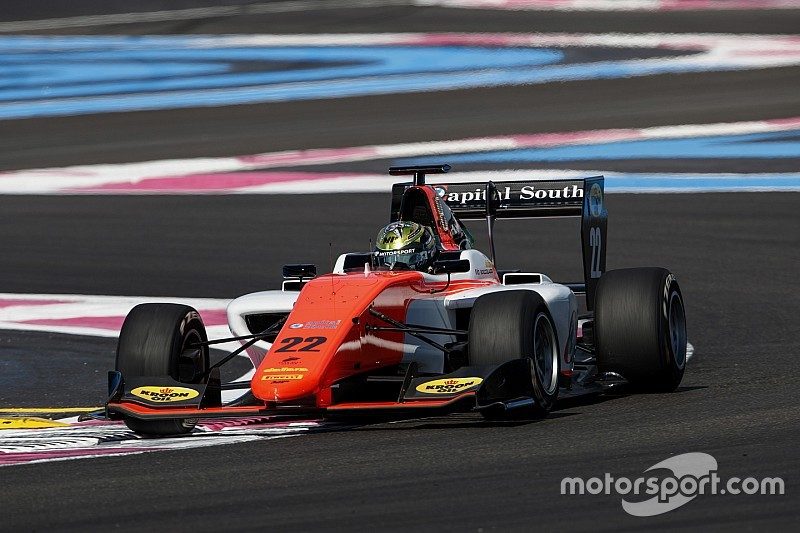 Paul Ricard GP3: Boccolacci survives grid scare to win