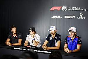 Formula 1 Press conference French GP: Thursday's press conference