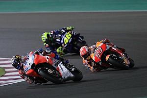 MotoGP Rennbericht MotoGP-Auftakt 2018 in Katar: Dovizioso ringt Marquez nieder - Rossi Dritter