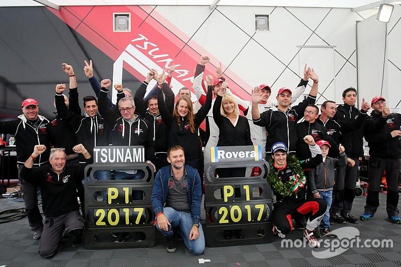Carrera Cup italia, con Rovera esulta il team Tsunami RT: