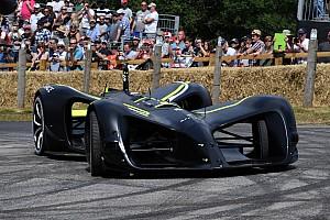 Roborace протестировала беспилотную машину на максимальную скорость