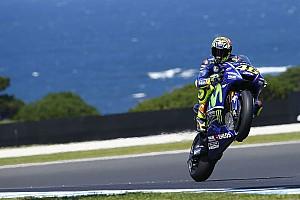 MotoGP News Valentino Rossi vorerst nicht in Q2: Neunter Triumph wird