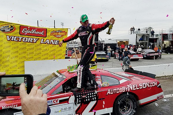 Stock car Breaking news Bobby McCarty pulls away late and wins CARS Tour season opener