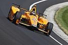 "IndyCar McLaren IndyCar return ""looking favorable"" says Brown"
