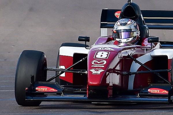 Pro Mazda St Pete Pro Mazda: Martin holds off Franzoni for victory