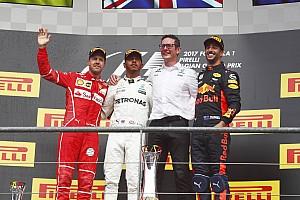 Formula 1 Yarış raporu Belçika GP - Vettel kovaladı, Hamilton kazandı!