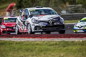 Clio Cup France Communiqués de presse  Un doublé pour Thibaut Bossy en Clio Cup France