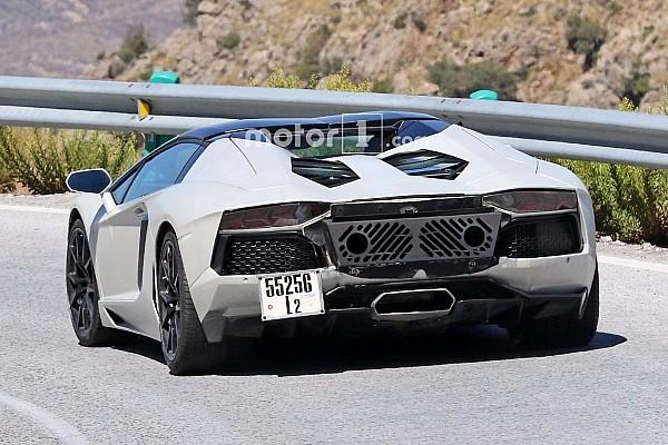 Auto Actualités Lamborghini prépare une Aventador plus performante