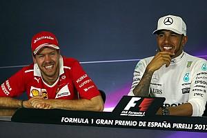 Forma-1 BRÉKING Hamilton és Vettel viccelődött: