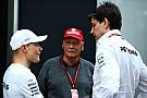 F1 Lauda aún no piensa en una extensión de contrato para Bottas