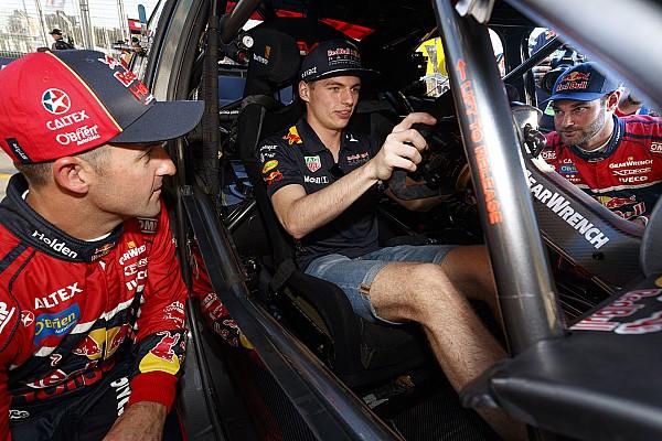 Гонщики Supercars научили Ферстаппена перегазовывать
