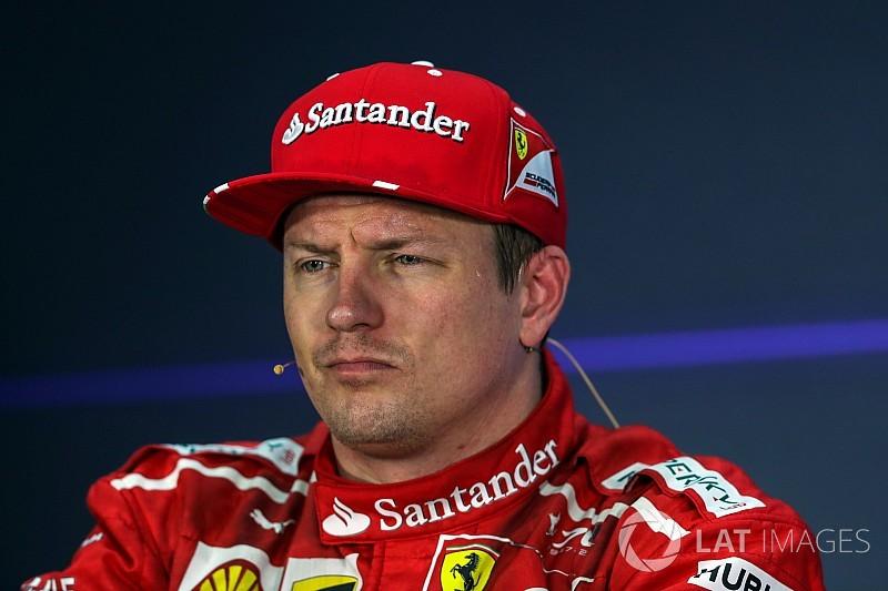 Räikkönen rattrapé par les ennuis et privé de départ
