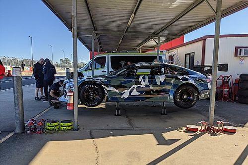 Chevrolet Supercars V8 makes testing debut